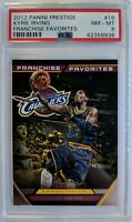2012-13 Prestige Franchise Favorites Kyrie Irving RC #19, PSA 8, Pop 1, 0 higher