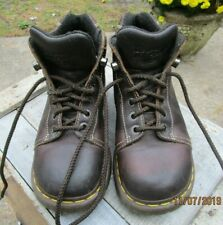 Dr Martens Doc Women's US Size 8 M Dark Brown Leather UK 6 8542 Shoe Boot