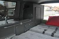 VW T5, T4 Conversion Furniture Plans, Renault Traffic, Mercedes Vito, Vivaro
