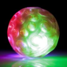 FLASHING LIGHTS METEOR BOUNCY BALL LED TOY BOYS GIRLS BIRTHDAY PARTY BAG FILLER