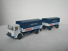 Wiking HO/1:87 424/5 MAN 12.170 Nahverkehr Lastzug Hellmann (CC/794-2S6/72)