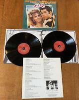 GREASE Original Soundtrack. RSO RSD 2001 UK Original VINYL Double LP EX/EX