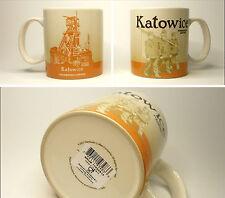 ▓#▓ Starbucks KATOWICE Poland City Mug Icon * NEW with SKU * 16oz ▓#▓