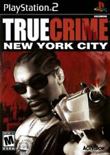 True Crime New York City NYC Complete in original case w/ manual PlayStation 2