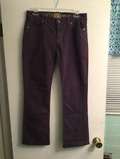Women's Rich and Skinny Purple Straight Leg Jeans Sz 28 EUC