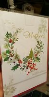 NEW AND SEALED CHRISTMAS MOTHER CARD FROM MARKS AND SPENCER