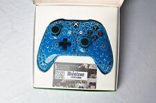 Blue Bandana Hydrodipped Xbox One Controller-New