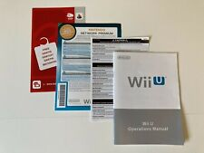 Nintendo Wii U Console Manuals/Instructions VGC