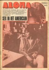 ALOHA 1972 6 Harry Mulisch ANDY WARHOL Lennon Ono SHANANA Hotel Americain COCKER