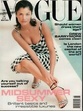 Vogue June 1995 British Helena Drew Barrymore  072619AME