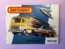 Matchbox Toys - Catalogue - 1979/80 - ( ORIGINAL )