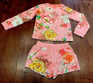 Room Seven Girls Autumn Jumper And Shorts Set Outfit In EXCELL COND