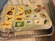 32 Stamps From Poland All Different Including Olympic And Zoo Issues