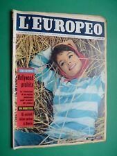 L'Européen 1960 Pascale Petit Jayne Mansfield B Aadland Emmanuelle Riva Bardot