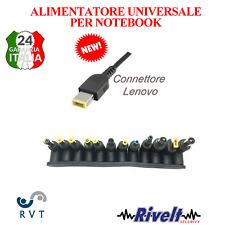 Alimentatore  per notebook universale auto regolante 12 connettori 120 w PROMO