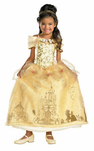 BELLE Prestige Costume Girls Beauty and the Beast 3T-8