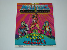 MOTU HE-MAN MASTERS OF THE UNIVERSE MINI COMIC 1985 ROCK PEOPLE RESCUE - US