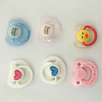 6 pcsPacifier Reborn Baby Doll Dummy  Magnetic Replace Reborn Doll Kits Supplies