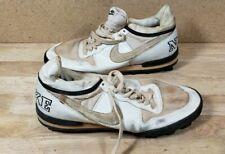 Vintage Nike Cleat White  Baseball Football Boss Shark Size 10 1987 870406pd