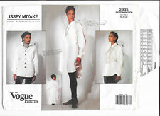 Vogue Sewing Pattern 2935, Issey Miyake Top and Tunic, Size 18-20-22, OOP