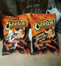 NEW Cheetos XXTRA Flamin Hot 8.5 Oz BIG BAGS Snacks Frito Lay TWICE AS HOT CHIPS