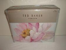 Ted Baker London Butterscotch Twin Duvet Cover Sham Set Seaglass Cotton Floral