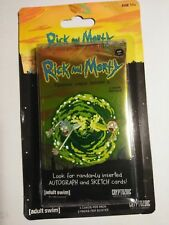 2018 Rick And Morty Season 1 Cards 2-Pack lot exclusive retail tattoo standee +