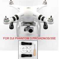 Night LED Lamp Headlight Flight Light 360° For DJI Phantom 3Pro Adv 3SE 3S Drone