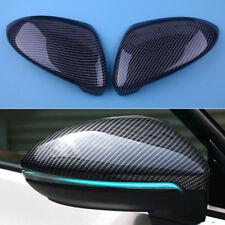2Stk L&R Carbon Aussenspiegel Abdeckung Spiegelkappen Für VW Golf 7 MK7 2014-18