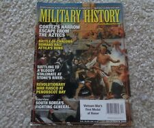 Military History Cortez's Narrow Escape from The Aztecs December 2003