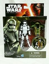 Star Wars The Force Awakens 2015 Forest Mission Armor STORMTROOPER 3.75 Figure