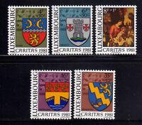 LUXEMBURGO/LUXEMBOURG 1981 MNH SC.B332/B335 Coats of Arms