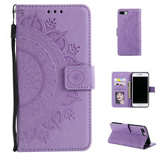 Flip Pattern Leather Wallet Stand Shockproof Case Cover For iPhone Xs Max 7 8 6s