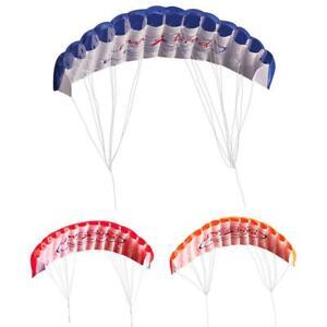 1Stk Lenkdrachen Lenkmatte Flugdrachen Drachen Lenk Matte Regenbogen-Sport Kite