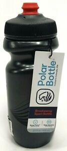 Polar Bottle Breakaway Water Bottle - 20oz - Wave Charcoal/Black