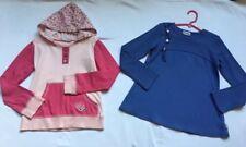 Naartjie Long-Sleeved Girls' Tops, Size 7, Purple & Pink Hooded, EUC!