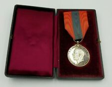 WW1 GEORGE V CASED IMPERIAL SERVICE MEDAL TO WILLIAM THOMAS CARTER