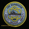 USS BAINBRIDGE CGN-25 PATCH US NAVY PIN UP GIFT GUIDED MISSILE E=MC2 CRUISER WOW