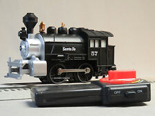 LIONEL JUNCTION SANTA FE LIONCHIEF RC STEAM ENGINE O GAUGE train 6-83266 E NEW