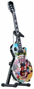 "Hard Rock Hotel HOLLYWOOD FL 2017 9.5"" Mini City Guitar Scale Model w/ Stand Box"