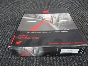 HONDA GENUINE FINAL DRIVE CHAIN & SPROCKET KIT. 06406-GN8-740 C90 CUB  RRP £93