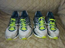 2 Pair Mens Asics Nimbus 18 Size 10 2E Wide Running Walking Training