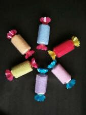 1Stk Kinder Waschlappen Süßigkeit Mini Handtuch Baby Geburt Gunsten Geschenk Neu