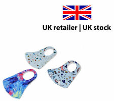 Pack of 3 Washable Reusable Children Face Mask Kids Unicorn Non Medical Fabric