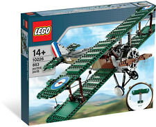 LEGO - SOPWITH CAMEL |  10226  |  RETIRED  |  WWI PLANE  |  BIPLANE  | PROPELLER
