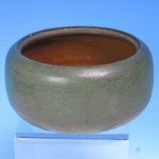 Signed Marblehead Art Pottery - Green Bowl - 6½ inches
