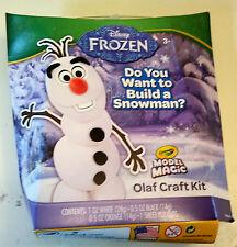 "New Disney Frozen Olaf Crayola Model Magic Craft Kit "" Do u Build a Snowman? """