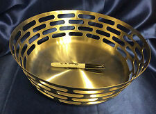 "New~SteelForme Brushed 12"" Stainless Steel Round Fruit Bowl~ship free"