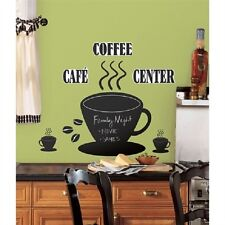 Coffee Cup Chalk Board Wall Decals, Appliques Kitchen Cafe