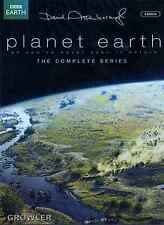 PLANET EARTH DVD - BBC TV SERIES WILDLIFE ANIMAL JUNGLE OCEAN NATURAL HISTORY